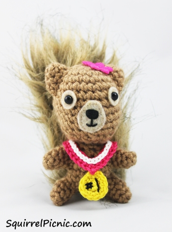 Make an award medal for your squirrel friend in their favorite colors. They deserve recognition too!
