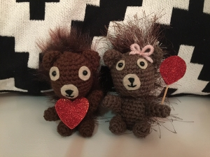 Dana Alcorn's squirrels named Max and Madeline