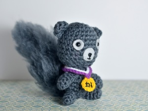 Award Medal for Your Squirrel Friend (and Squirrel) by Patricia