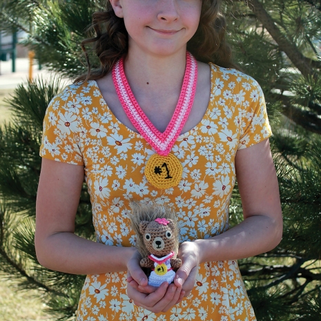 Everyone deserves some recognition. Make #1 Award Medals for you and your squirrel friend.