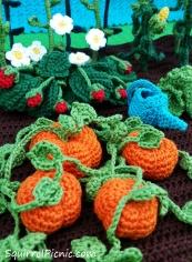 Podge also planted pumpkins.