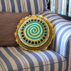 Pillow by Patricia Castillo